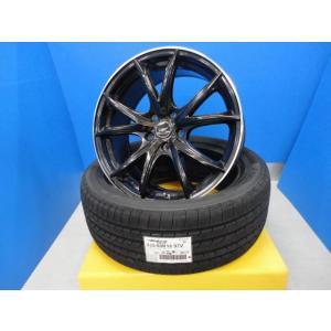 新品235/50R18 ブルーアース RV-02!18インチ 中古 マナレイ ヴァーテック VR5 SPライン 8.0J+42 5穴 114.3 アルファード ヴェルファイア|tread-tire2011