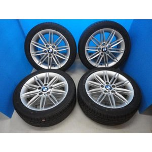 新品 ダンロップ タイヤ付き!中古 BMW 130i  7J 7.5J+47 5穴 PCD120 225/45R17 SPスポーツ LM704|tread-tire2011