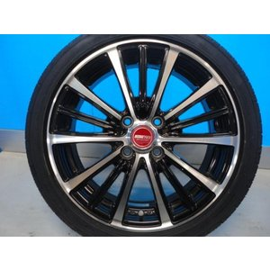 新品 165/50R16 タイヤ付き! 中古美品 バーンズテック TS3-BP 16-5J+45 4穴 PCD100 & 新品 グッドイヤー イーグル LS2000HBII 軽カー|tread-tire2011|02