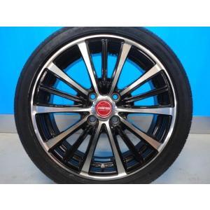 新品 165/50R16 タイヤ付き! 中古美品 バーンズテック TS3-BP 16-5J+45 4穴 PCD100 & 新品 グッドイヤー イーグル LS2000HBII 軽カー|tread-tire2011|03