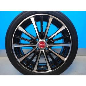 新品 165/50R16 タイヤ付き! 中古美品 バーンズテック TS3-BP 16-5J+45 4穴 PCD100 & 新品 グッドイヤー イーグル LS2000HBII 軽カー|tread-tire2011|04