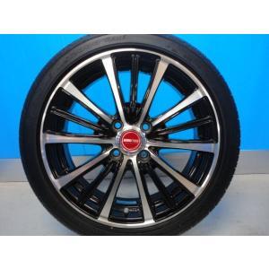 新品 165/50R16 タイヤ付き! 中古美品 バーンズテック TS3-BP 16-5J+45 4穴 PCD100 & 新品 グッドイヤー イーグル LS2000HBII 軽カー|tread-tire2011|05
