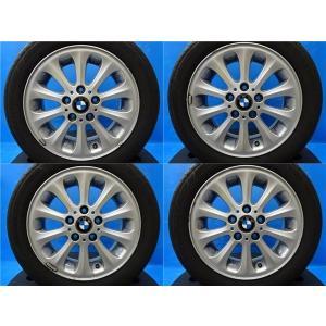 【中古タイヤアルミセット♪】BMW1シリーズ純正 16インチ+BS レグノGR−XI【195/55R16】2017年|tread-tire2011