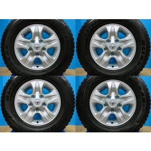 お買い得 LAND CRUISER 100中期純正アルミ BS ブリザック DM-Z3 275/65R17 2005年製 4本セット ランクル シグナス LX470 LX570レクサス|tread-tire2011