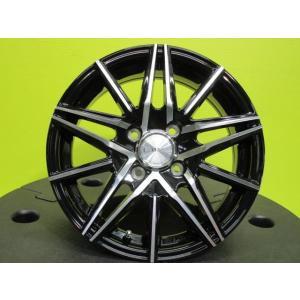 ブロンクス TB-01 5.5J-14 +38 100 4H ブラックポリッシュ ルーミー ポルテ スペイド フィールダー アクア ヴィッツ フィット ノート デミオ トール 店頭取付OK|tread-tire2011