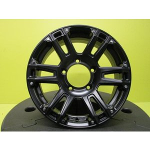 AT-W XX   5.5J-16 +20 139.7 5H サテンブラック 新品4本 ジムニー AZオフロード JA11 JA22 JB23 JB64 店頭取付OK|tread-tire2011