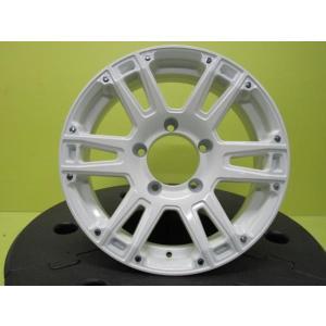 AT-W XX 5.5J-16 +20 139.7 5H クラシカルホワイト 新品4本 ジムニー AZオフロード JA11 JA22 JB23 JB64 店頭取付OK|tread-tire2011