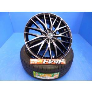 ♪トレッドおすすめホイールセット入荷♪【インプレッサスポーツ等】VENES FS01 + 夏タイヤ DUNLOP エナセーブRV504 225/45R18 新品4本set tread-tire2011