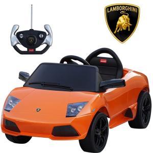 ランボルギーニ正規ライセンス LP640 ムルシエラゴ オレンジ 電動乗用玩具 リモコン操作可能  Lamborghini|treasure-com