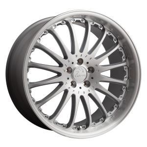 サマータイヤホイールセット 245/35R21インチ 5H120 カールソン 1/16RS ブリリアントエディション(シルバー) レクサス LS600 ハンコック K120|treasure-one-company