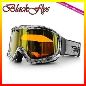 ブラック フライ ゴーグル BLACKFLYS カオス CHAOS BF10-5102-SS74 Silver Mono/L.Orange Gold Mirror スキー スノーボード GOGGLE|treasureland