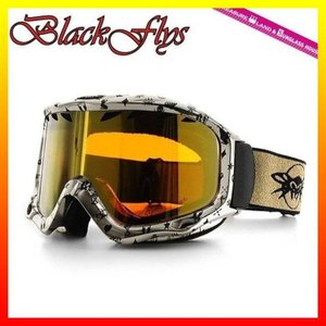 ブラック フライ ゴーグル BLACKFLYS カオス CHAOS BF10-5102-GG74 Gold Mono/L.Orange Gold Mirror スキー スノーボード GOGGLE|treasureland
