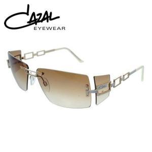 カザール サングラス CAZAL MOD.9035-002 パールホワイト ゴールド ブラウン グラデーション メンズ レディース|treasureland