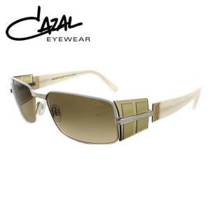 カザール サングラス CAZAL MOD.9055-004 57 ホワイト ゴールド ブラウン グラデーション メンズ レディース|treasureland