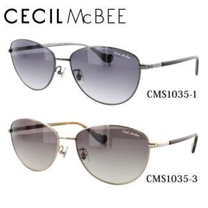セシルマクビー CECILMcBEE サングラス CMS1035 全2カラー 57 サイズ 調整可能 ノーズパッド 紫外線 UV 秋|treasureland