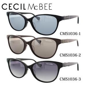 セシルマクビー CECILMcBEE サングラス CMS1036 全3カラー 56 サイズ 紫外線 UV 秋|treasureland