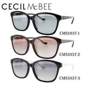 セシルマクビー CECILMcBEE サングラス CMS1037 全3カラー 55 サイズ 紫外線 UV 秋|treasureland