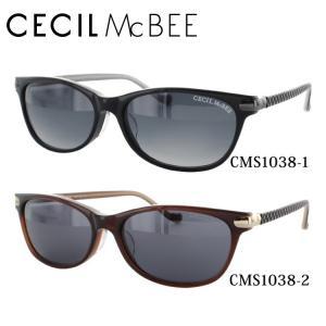セシルマクビー CECILMcBEE サングラス CMS1038 全2カラー 54 サイズ 紫外線 UV 秋|treasureland