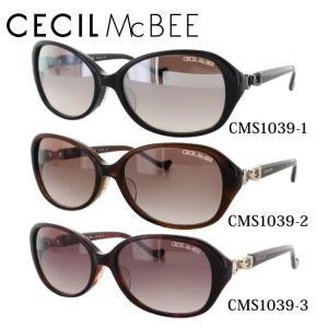 セシルマクビー CECILMcBEE サングラス CMS1039 全3カラー 55 サイズ 紫外線 UV 秋|treasureland