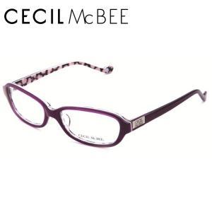セシルマクビー フレーム 伊達 メガネ 眼鏡 CECIL McBEE CMF7004-4|treasureland