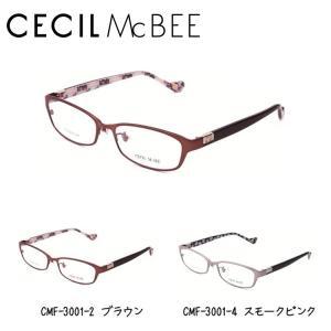 セシルマクビー フレーム 伊達 メガネ 眼鏡 CECIL McBEE CMF3001-2/CMF3001-4|treasureland
