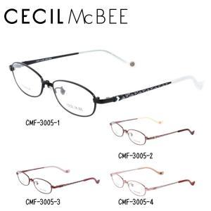 セシルマクビー フレーム 伊達 メガネ 眼鏡 CECIL McBEE CMF3005-1/CMF3005-2/CMF3005-3/CMF3005-4|treasureland