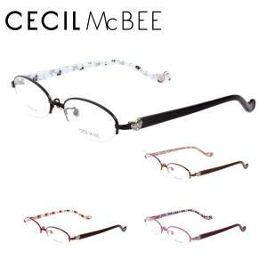 セシルマクビー フレーム 伊達 メガネ 眼鏡 CECIL McBEE CMF3007-1/CMF3007-2/CMF3007-3/CMF3007-4|treasureland