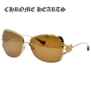 クロムハーツ サングラス Chrome Hearts CALLMEBACK GP Gold/Brown レディース 紫外線 UV メンズ レディース treasureland