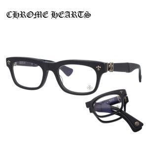 クロムハーツ 伊達 メガネ 眼鏡 BSフレアー メガネ フォールディングモデル 折り畳み DROOLIN MBK Matte Black セル ウェリントン シルバー メンズ レディース treasureland