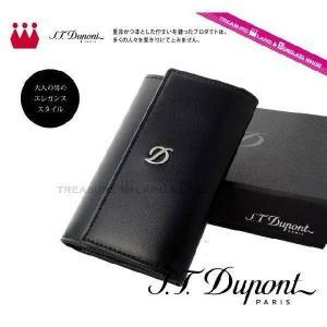 デュポン S.T.Dupont 6連キー ケース 77000 ブラック 黒 D-Line dupont treasureland