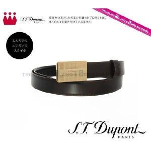 デュポン S.T.Dupont ベルト リバーシブル ブラック 黒 ブラウン 茶 7570120 dupont メンズ 男性|treasureland