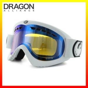 ドラゴン ゴーグル DRAGON 722-3544 DX Powder/Yellow Blue Ionized ミディアムフィット MEDIUM FIT FRAME GOGGLE ディーエックス ヘルメット対応|treasureland