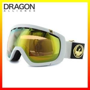 ドラゴン ゴーグル DRAGON 722-3599 ROGUE White/Gold Ionized ミディアムフィット MEDIUM FIT FRAME ヘルメット対応|treasureland