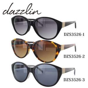 ダズリン dazzlin サングラス DZS3526 全3カラー 57 サイズ 紫外線 UV 秋|treasureland