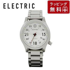 腕時計 防水 エレクトリック ELECTRIC FW01 EW1001 SS WHITE ウォッチ メンズ レディース 国内正規品|treasureland