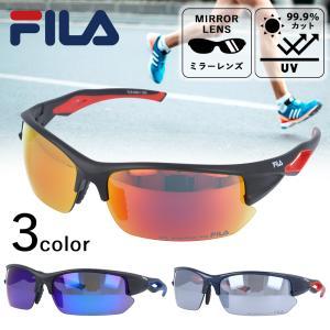 フィラ サングラス ミラーレンズ アジアンフィット FILA FLS 4004 全3カラー 70|treasureland