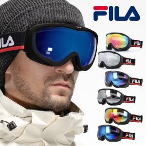 フィラ ゴーグル ミラーレンズ アジアンフィット FILA FLG 7036B 全9カラー スキー スノーボード スノボ スノーゴーグル|treasureland