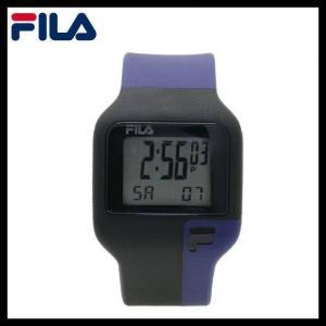 フィラ 腕 時計 防水 FILA FAT003DG-5 ブラック 黒 ネイビー 紺 クォーツ クロノグラフ メンズ レディース 国内正規品|treasureland