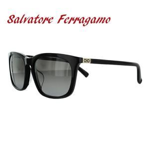 サルヴァトーレ フェラガモ サングラス Salvatore Ferragamo SF743SA-001 56 ブラック 黒 紫外線 UV カット treasureland
