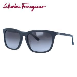 サルヴァトーレ フェラガモ サングラス Salvatore Ferragamo SF743SA-002 56 マット ブラック 黒 紫外線 UV カット treasureland