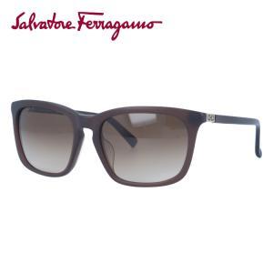 サルヴァトーレ フェラガモ サングラス Salvatore Ferragamo SF743SA-200 56 マットブラウン 紫外線 UV カット treasureland