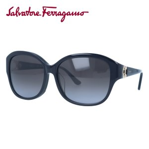 サルヴァトーレ フェラガモ サングラス Salvatore Ferragamo SF741SRA-001 57 ブラック 黒 紫外線 UV カット treasureland
