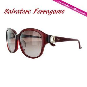サルヴァトーレ フェラガモ サングラス Salvatore Ferragamo SF741SRA-604 57 レッド 紫外線 UV カット treasureland