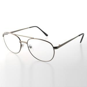 老眼鏡 シニアグラス リーディンググラス K-16 E11199 グレー メンズ 男性 レディース 女性 treasureland