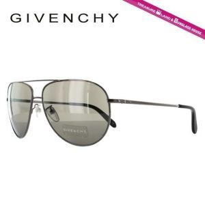 ジバンシー GIVENCHY サングラス SGV410 0568 ガンメタル グレー メンズ 紫外線 UV カット treasureland