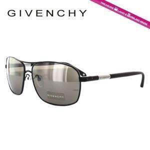 ジバンシー GIVENCHY サングラス SGV411M 0531 マット ブラック 黒 グレー メンズ 紫外線 UV カット treasureland