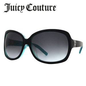 ジューシークチュール JUICY COUTURE サングラス SINNAFS EL9/JJ ブラック ・ターコイズ/スモーク グラデーション 紫外線 UV 秋|treasureland