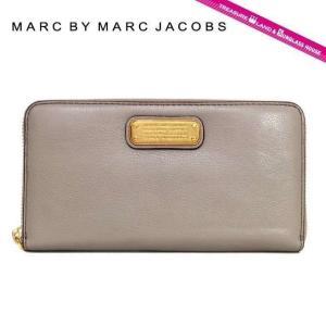 マーク バイ マークジェイコブズ 長 財布 ブランド MARC BY MARC JACOBS M0005696 (M0005350) ベージュ系 New Q Slim Zip Around Color 055 treasureland