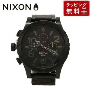 ニクソン 腕時計 防水 NIXON NA4861320-00 NIXON 48-20 クロノ CHRONO ALL BLACK/MULTI 国内正規品 メンズ 男性 レディース 女性 treasureland