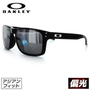 オークリー サングラス ホルブルック OO9244-02 OAKLEY HOLBROOK Polished Black/Black Iridium Polarized スポーツ 紫外線 UV カット|treasureland